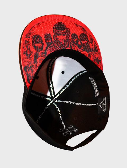 lapulapu red logo snapback bayani art. Black Bedroom Furniture Sets. Home Design Ideas