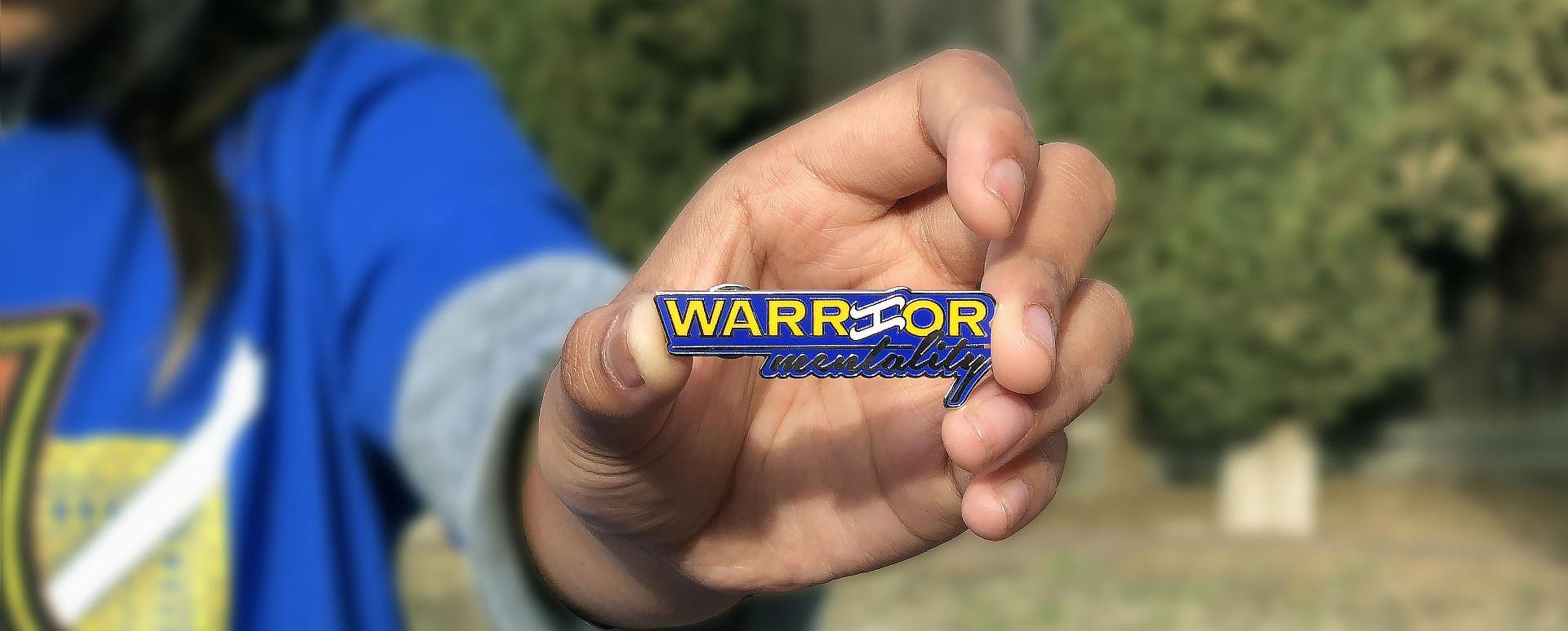 Bayani-art-Warrior-Mentality-Pin