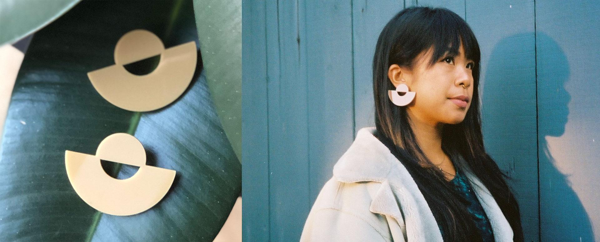 Bayani-art-Luna-BRWNGRLZ-Earrings