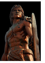Lapu Lapu Sculpture