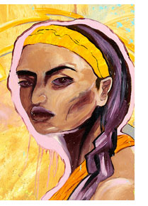 Painting of Maria Josefa Gabriela aka Gabriela Silang